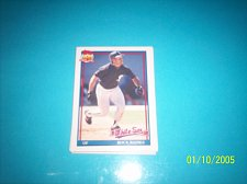 Buy 1991 Topps Traded card of rock raines white sox #94T mint free ship