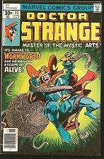 Buy Dr. Strange #23 JIM STARLIN / Rudy Nebres Marvel Comics 1977 VF- range Wormworld