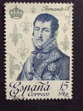 Buy Spain 1978 Mi2393 1v used Stamp Ferdinand VII Royalty & Monarchies