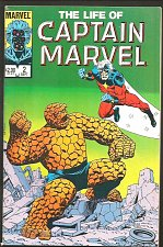 Buy The LIFE OF CAPTAIN MARVEL #2 Deluxe Format 1985 STARLIN Guardians of the Galaxy