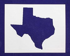 Buy State of Texas Stencil -14 mil Mylar Painting/Crafts