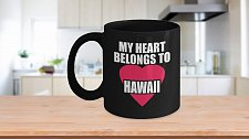 Buy My Heart Belongs To Hawaii Coffee Mug
