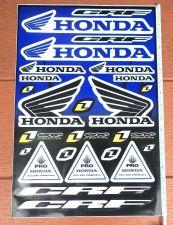 "Buy Racing Team Honda stickers sticker Vinyl sheet pack kit 12"" X 18"""