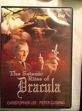 Buy The Satanic Rites of Dracula DVD Christopher Lee,Peter Cushing,Joanne Lumley