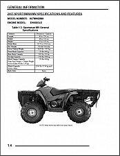 Buy 2007 Polaris Sportsman 700 MV ATV Service Repair Manual CD