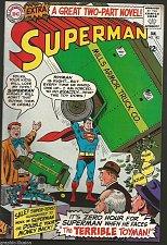 Buy SUPERMAN #182 DC COMICS 1966 1st print SILVER AGE Comic Fine to VF range
