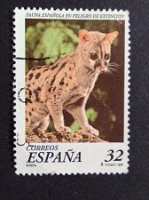 Buy Spain 1 v used stamp Common Genet 1997 mi 2312