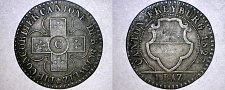Buy 1827 Swiss Cantons Freiburg 1 Batzen World Coin - Switzerland