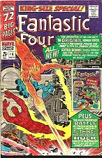 Buy Fantastic Four Annual #4 Jack Kirby Human Torches Battle, Stan Lee Sinnott 1966