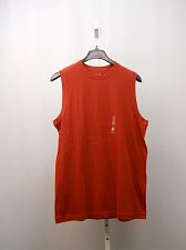 Buy Mens Muscle Tee Shirt SIZE L ROUNDTREE & YORKE SPORT 100% Cotton Solid Red