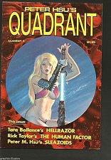 Buy Peter Hsu's Quadrant #4 Fine + or better QUADRANT PUBLISHING B&W great art SEXY
