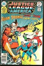 Buy Justice League of America 138 Adam Strange Comics Dillon/Bates ADAMS COVER 1977