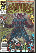 Buy Guardians of the Galaxy #25 Foil Cover Galactus Marvel Comic VF+/NM+ High Grade
