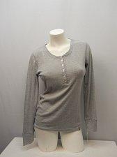 Buy SIZE M Women Sleepshirt JANE AND BLEECKER INTIMATES Grey Long Sleeves Scoop Neck