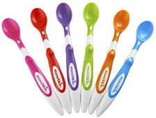 Buy Munchkin Soft-Tip Infant Spoon, 6 Count