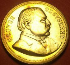 Buy Gem Unc Grover Cleveland Presidential Bronze Inauguration Medallion~Free Ship