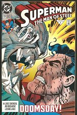 Buy SUPERMAN THE MAN OF STEEL #19 DOOMSDAY DC Comics 1993
