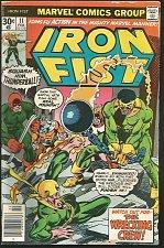 Buy IRON FIST #11 VG- Marvel Comics 1977 by CLAREMONT, John Byrne art Adkins