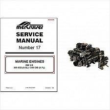 Buy 93-97 MerCruiser #17 GM V-8 5.0L 305 CID / 5.7L 350 CID Service Repair Manual CD