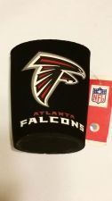 Buy Atlanta Falcons Round Can Coolers Coolie Koozie Neoprene New (405)
