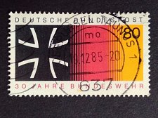 Buy Germany 1 v used stamp 1985 Michel 1266 30 years Federal Armed Forces