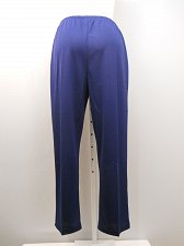 Buy Womens Casual Pants PLUS SIZE 20W SARA MORGAN Solid Navy Blue Pullon Inseam 30
