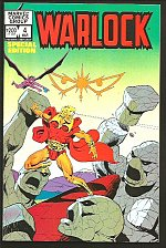 Buy WARLOCK #4 GUARDIANS OF GALAXY Jim Starlin art 1983 VF+/NM- SPECIAL EDITION