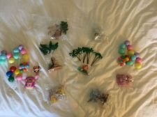 Buy 8 x Vintage Discontinued DISNEY lot DECO PAC cake toppers KITS UNUSED see video
