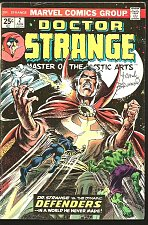 Buy Dr. Strange #2 SIGNED by Frank Brunner AUTHOGRAPHED Guardians of the Galaxy 1974
