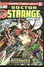 Buy Dr. Strange #2 SIGNED by Frank Brunner artist MARVEL Comics 1974