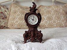 Buy CLOCK BODY Decorative Cast Iron Mantle Shelf Table Used