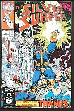 Buy Silver Surfer #55 INFINITY GAUNTLET Crossover NM THANOS GUARDIANS OF THE GALAXY