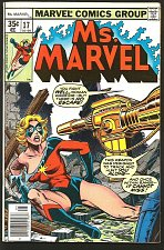 Buy Ms. Marvel #17 --1st brief MYSTIQUE Marvel Comics 1978 VF+ 1st series & print