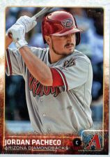 Buy 2015 Topps Update #US131 Jordan Pacheco Arizona Diamondbacks