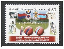 Buy Srilanka MNH Stamp 2006 CENTENARY of KINGSWOOD - DHARMARAJA CRICKET Match Scarce