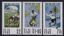 Buy FIJI SET OF 3 1993 HONG KONG RUGBY SEVENS mi 679-682