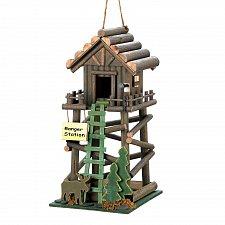 Buy *16369U - Ranger Station Moose Cutout Wood Birdhouse
