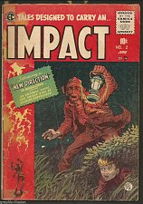 Buy IMPACT #2 EC COMICS 1st print and series 1955 Jack Davis, Crandall GOLDEN AGE