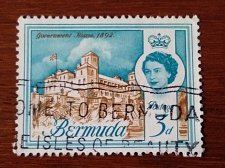 Buy BERMUDA stamp 1v Used 1962 Government House
