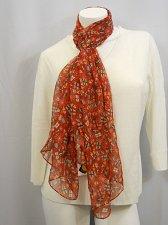 Buy SCARF 70X22 Womens Christmas Print CEJON Traditional Sheer Stole Shawl Wrap