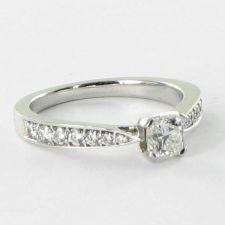 Buy Hearts On Fire Dream Solitaire Engagement Ring 0.79cts Diamonds 18k WG Sz 6.5