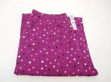 Buy SIZE S Women Pajama Bottoms HUE INTIMATES Purple Geometric Straight Legs Elastic