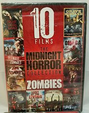 Buy 10Movie 14hrs. DVD OMEGA,Grave Mistake,Awaken Dead,Last of Living,Zombie Dearest