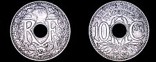 Buy 1930 French 10 Centimes World Coin - France