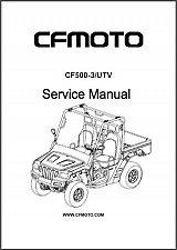 Buy CFMoto Rancher 500 ( CF500-3 ) UTV Service Manual on a CD