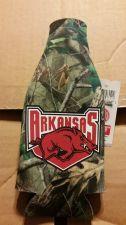 Buy (2) Arkansas Razorbacks Zipper Bottle Koozies CAMO (405)