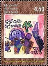 Buy SRI LANKA 1Value MNH Stamp 2002 2002 International Children's Day