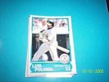 Buy 1988 Score Young Superstars series 1 baseball LUIS POLONIA #22 FREE SHIP