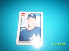Buy 1991 Topps Traded card of rookie wade taylor yankees #117T mint free ship