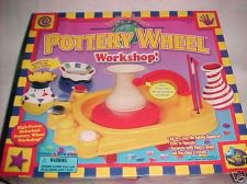 Buy complete hand clay POTTERY WHEEL craft set w/AC ELECTRICAL ADAPTER POWER SUPPLY